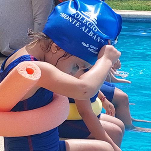 Alumnos de preescolar Colegio Monte Albán