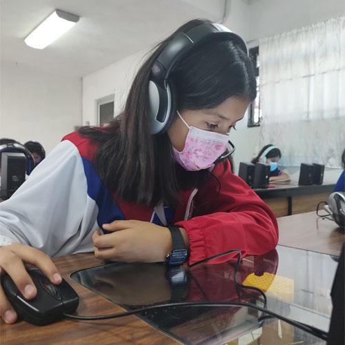 Alumnos de primaria Colegio Monte Albán