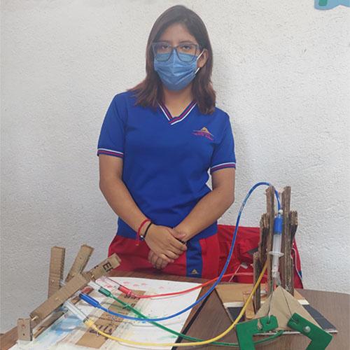 Alumnos de secundaria Colegio Monte Albán