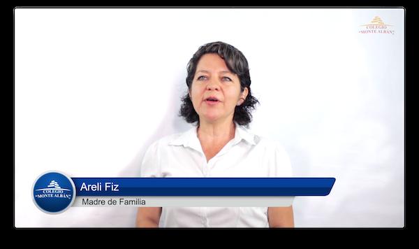 Video del testimonio de Areli Fiz