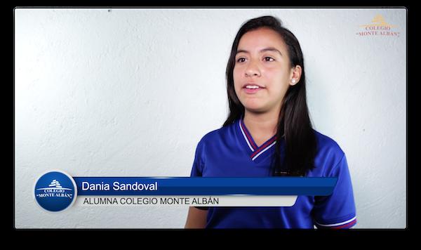 Video del testimonio de Dania Sandoval
