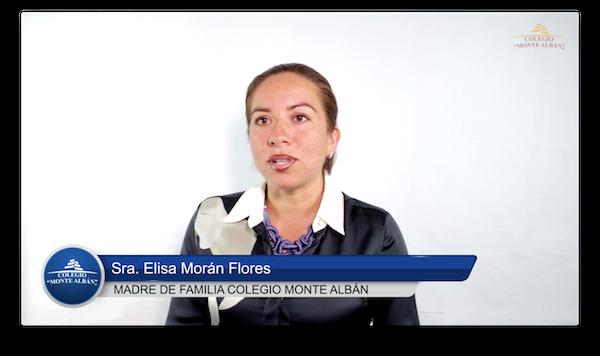 Video del testimonio de Elisa Mora