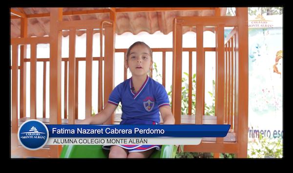 Video del testimonio de Fatima Cabrera