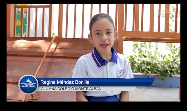 Video del testimonio de Regina Méndez